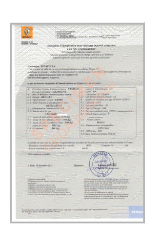 certificat de conformit citroen certificat de conformit europ en certifauto certificat. Black Bedroom Furniture Sets. Home Design Ideas